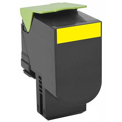Toner Lexmark 802Y Yellow