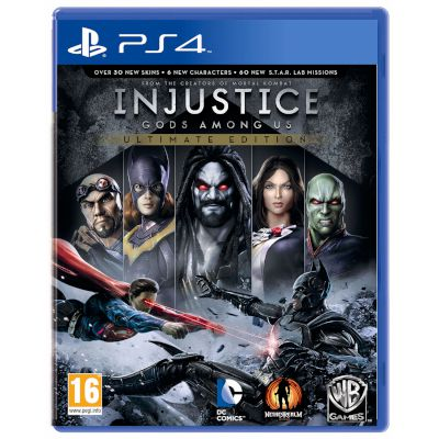 Warner Injustice God Among us GOTY PS4