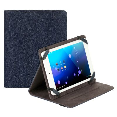 "Θήκη Sentio Universal Book Cover για tablet 8"" Jeans"
