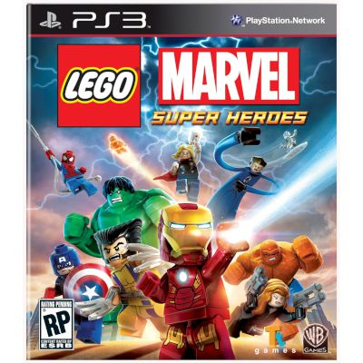 Warner Lego Marvel Superheroes PS3