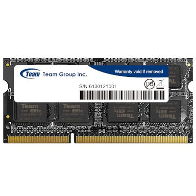 TeamGroup Laptop RAM Value 8GB 1600MHz DDR3