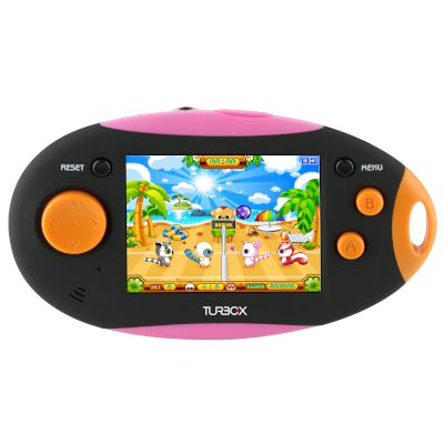 Turbo-X Mobile Game Console GC-200 Black Pink