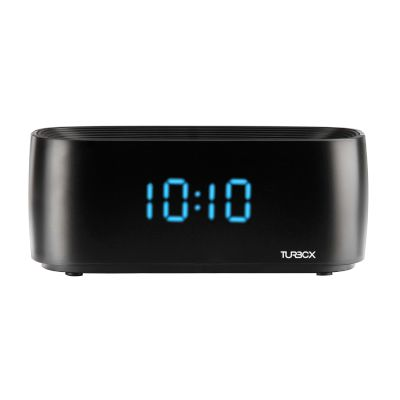 Turbo-X Ηχεία Bluetooth Alarm Clock Μαύρο