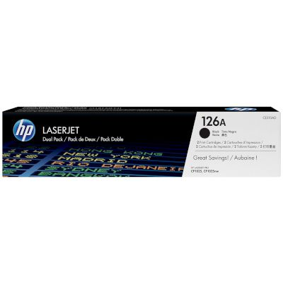 Toner HP 126A Black Dual pack