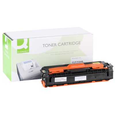 Toner Q-Connect Συμβατό CLT-Y504S Yellow