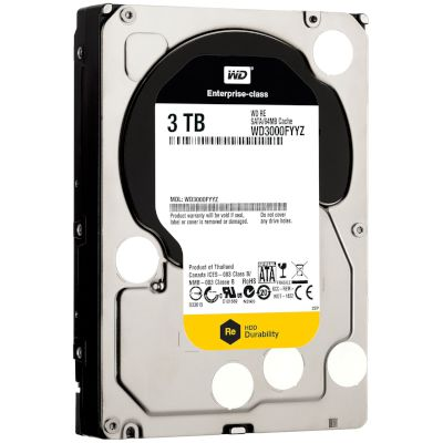 WD RE Datacenter HDD 3TB