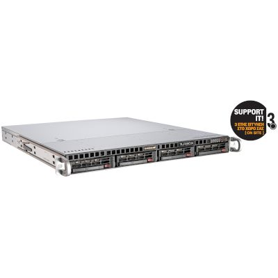 Flexwork SRS2603-8-2 Server (Xeon E5-2603v2/8 GB/2x1TB HDD/G200eW/1U)