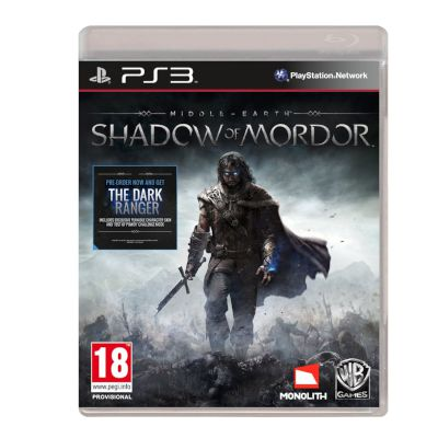 Warner Middle Earth:Shadow Of Mordor PS3
