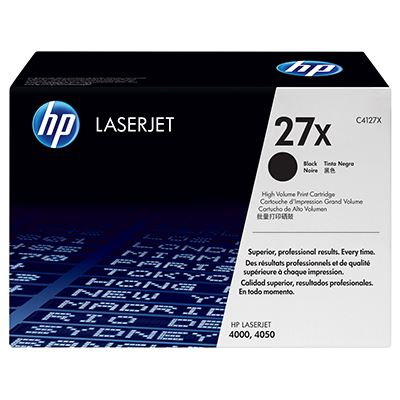 Toner HP 27X Black