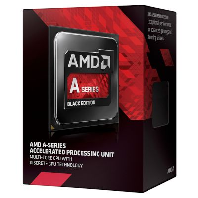 AMD CPU A6 7400k Black (FM2+/3.9 GHz/1 MB)