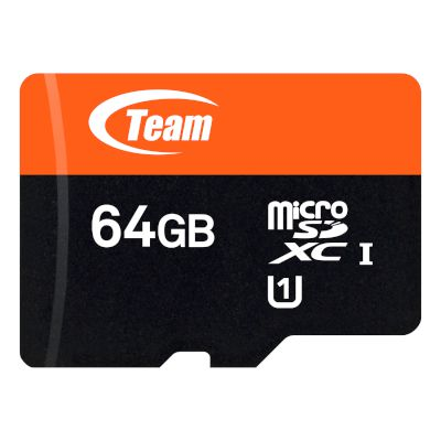 TeamGroup microSDXC Κάρτα Μνήμης 64 GB UHS-1 με SD adapter