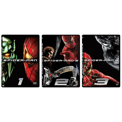 Spiderman 1+2+3 (3 DVD)