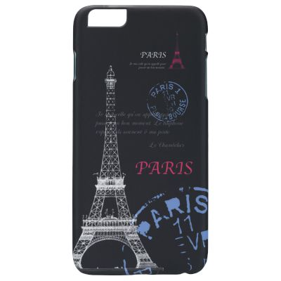 Θήκη Sentio Back Cover για iPhone 6 plus Eiffel Paris