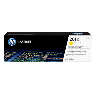 Toner HP 201X Yellow