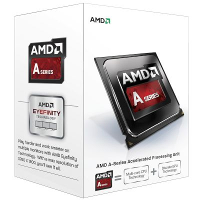 AMD CPU A4 7300 (FM2/4.00 GHz/1 MB)
