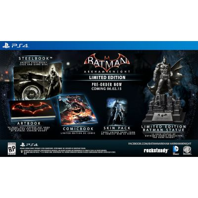 Batman Arkham Knight Memorial Edition PS4