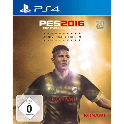 Konami Pro Evolution Soccer 2016 Anniversary Edition PS4