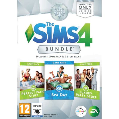 EA The Sims 4 Bundle Code in The Box PC