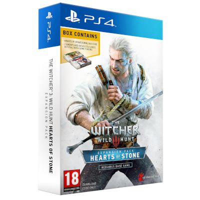 The Witcher 3 : Wild Hunt Hearts Of Stone Expansion Pack (PS4)