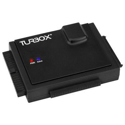 "Turbo-X Adaptor HDD Sata 2.5""/3.5"" to USB 2.0"