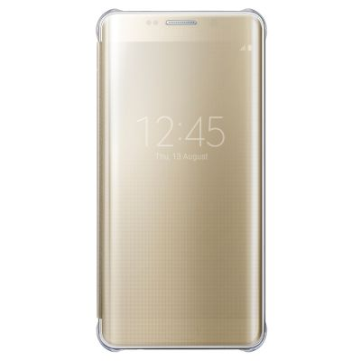 Θήκη Samsung View Cover για Galaxy S6 Edge + Χρυσή