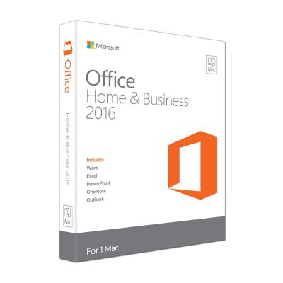 Microsoft Office Mac Home and Business 2016 English