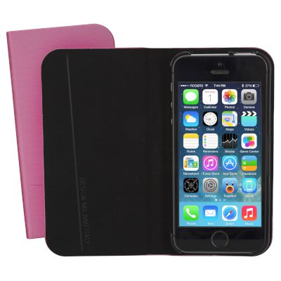 Θήκη Tucano Book Cover για iPhone 5/5S/SE Ροζ