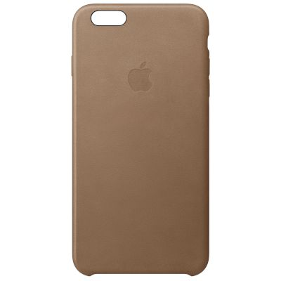 Θήκη Apple Back Cover για iPhone 6s Plus Καφέ