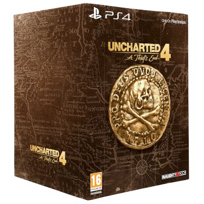 Sony Uncharted 4: A Thief's End Libertalia Collector's Edition Playstation 4