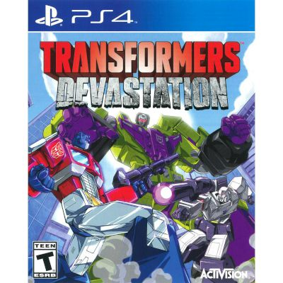 Activision Transformers Devastation Playstation 4