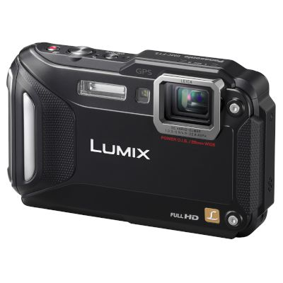 Panasonic Αδιάβροχη Digital Camera Lumix FT5EG9 Μαύρο