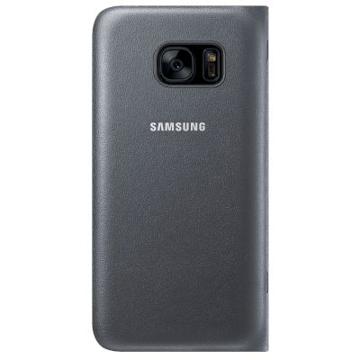 Θήκη Samsung Led View Cover για Galaxy S7 Μαύρη