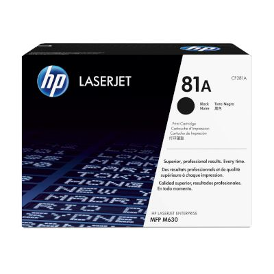 Toner HP 81A Black