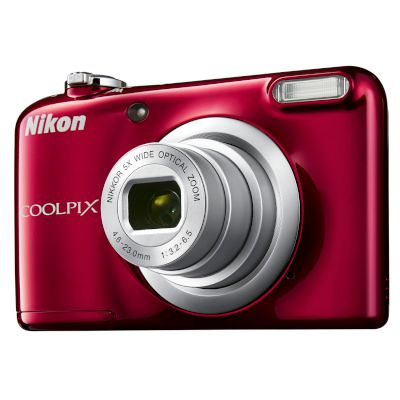 Nikon Digital Camera Coolpix A10 Red