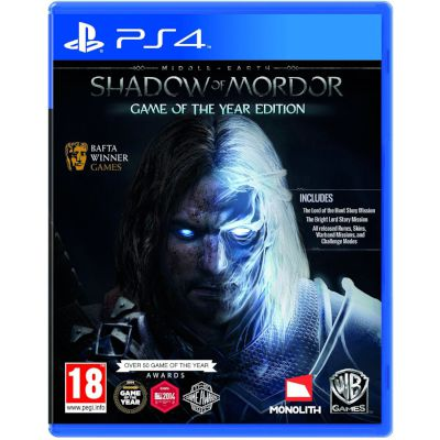 Warner Middle Earth: Shadow of Mordor GOTY Playstation 4