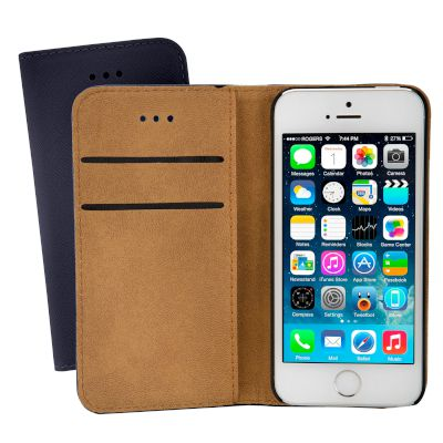 Θήκη Sentio Book Cover για iPhone 5/5s/SE Μπλε