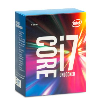 Intel CPU Core i7 6800K (2011-3/3.40 GHz/15 MB)
