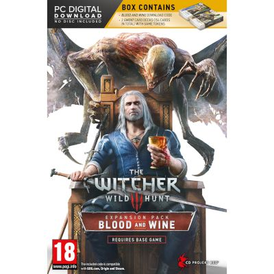 CD Projekt RED The Witcher 3: Wild Hunt  Blood and Wine PC