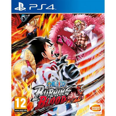 Namco One Piece Burning Blood Playstation 4