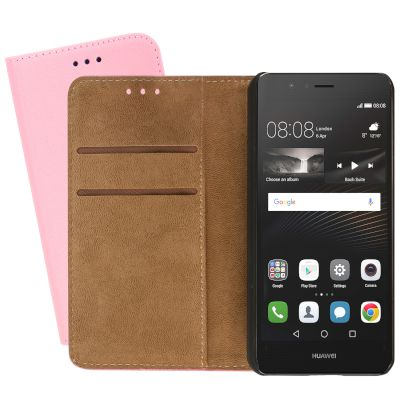 Θήκη Sentio Book Cover για P9 Lite Light Pink