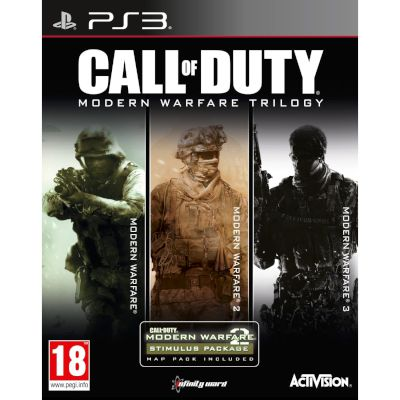Activision Call Of Duty Modern Warfare Trilogy Playstation 3