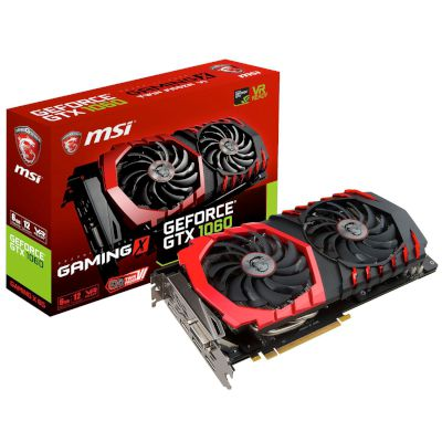 MSI VGA GeForce GTX 1060 Gaming X 6GB
