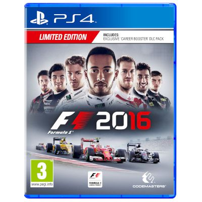 Codemasters Formula 1 2016 D1 Edition Playstation 4