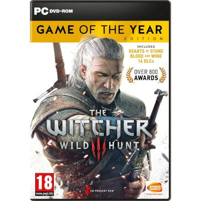 CD Projekt RED The Witcher 3 : Wild Hunt GOTY Edition PC
