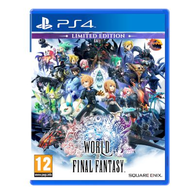 Square Enix World Of Final Fantasy Limited Edition Playstation 4