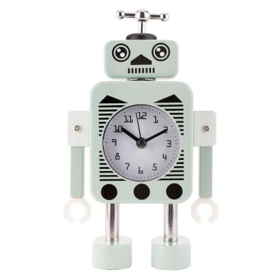 Robot Alarm Clock Green