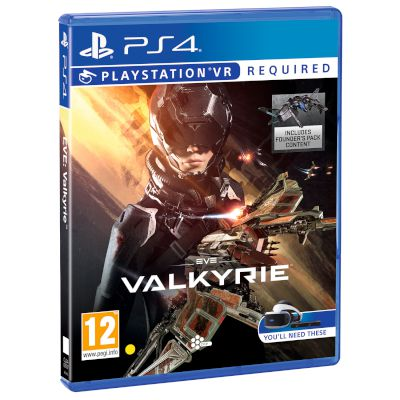 Sony Eve Valkyrie VR Playstation 4