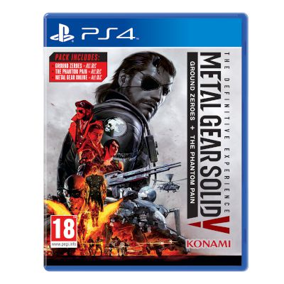 Konami Metal Gear Solid V Definitive Edt Playstation 4