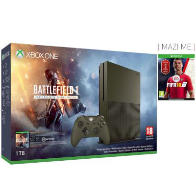 Microsoft XBOX ONE S 1 TB Battlefield 1 Special Edition Bundle