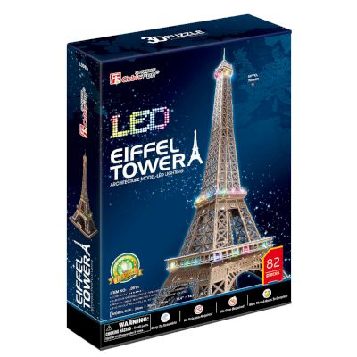"3D Puzzle ""Eiffel Tower"" (Led) 82 τμχ"